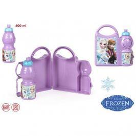 Pojemnik śniadaniowy + bidon Frozen - Kraina Lodu
