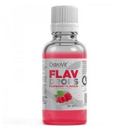 OSTROVIT Flavour Drops - 50ml - Raspberry