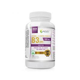 Wish Pharmaceutical Niacyna (Vitamin B3) 500 mg Inulina 120 caps