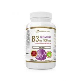 Niacyna (Vitamin B3) 500mg Inulina 120caps Szybka Wysyłka