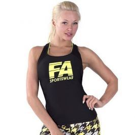 FA WEAR Tanktop Woman's - Basic - Black - XS