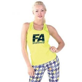 FA WEAR Tanktop Woman's - Basic - Neon Yellow - M