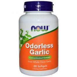 NOW Odorless Garlic - 100soft gels