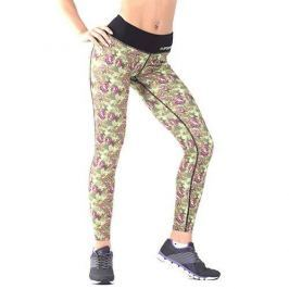 FA WEAR Leggins - Roses - Green - XS