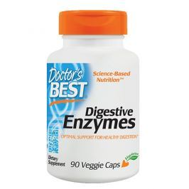 DOCTOR'S BEST Digestive Enzymes - 90vegcaps (Enzymy)