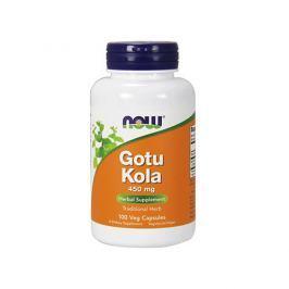 NOW Gotu Kola 450 mg 100 veg kaps Pamięć