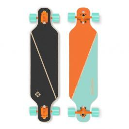 Longboard Street Surfing Freeride - Nordic Orange 39