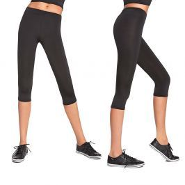 Damskie sportowe spodnie 3/4 BAS BLACK Forcefit 70 Damskie Leginsy