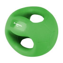 Piłka lekarska z uchwytami inSPORTline Grab Me 5 kg