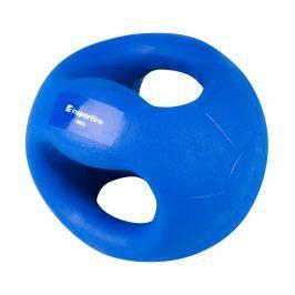 Piłka lekarska z uchwytami inSPORTline Grab Me 4 kg