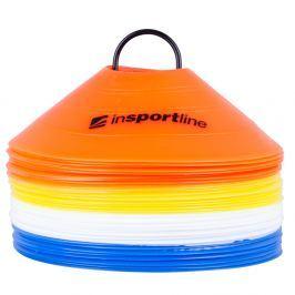 Zestaw Plastikowe pachołki treningowe inSPORTline 40 sztuk