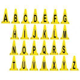 Pachołki treningowe ZESTAW inSPORTline Alfabet 23 cm