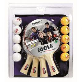Zestaw do tenisa stołowego Joola Family - 4 rakietki, 10 piłeczek, futerał