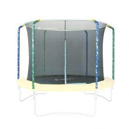Zestaw trampolina, siatka ochronna i osłona sprężyn inSPORTline Sun 366 cm Siatki do trampolin