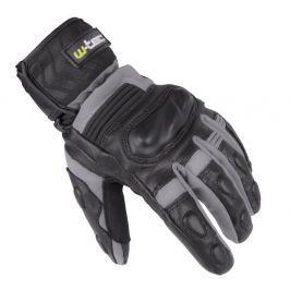 Skórzane/tekstylne rękawice motocyklowe na zimę W-TEC NF-4070