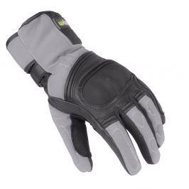Skórzane/tekstylne rękawice motocyklowe na zimę W-TEC NF-4004
