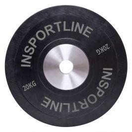 Obciążenie gumowane inSPORTline płyta 20 kg