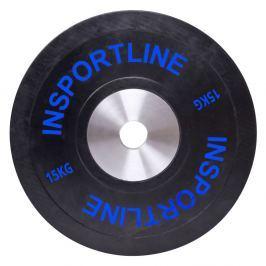 Obciążenie gumowane inSPORTline płyta 15 kg