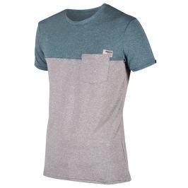 Męska szybkoschnąca koszulka Jobe Discover Fog Blue