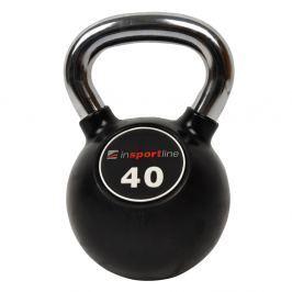 Hantla gumowana inSPORTline Kettlebell 40 kg