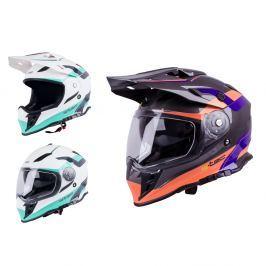 Kask motocyklowy motocrossowy enduro W-TEC V331
