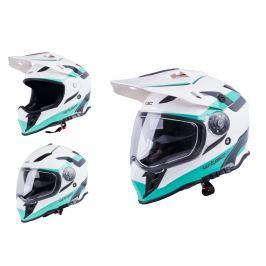 Kask motocyklowy motocrossowy enduro W-TEC V331 Kaski Motocross