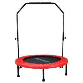 Trampolina fitness z poręczą  inSPORTline Skippy Plus 122cm