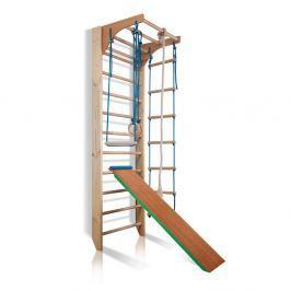 Drabinka gimnastyczna dla dzieci ZESTAW inSPORTline Kombi 3 - 240 cm Drabinki drewniane