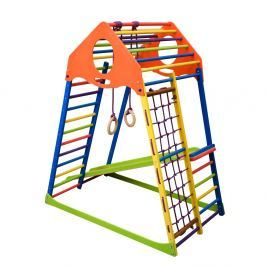 Wielofunkcyjny plac zabaw dla dzieci inSPORTline Kindwood Set Wspinaczka i drabinki
