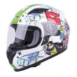 Dziecięcy kask motocyklowy integralny W-TEC FS-815G
