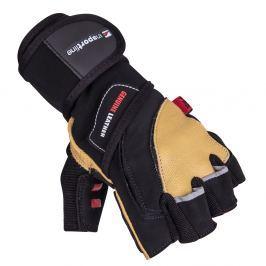 Skórzane rękawice do ćwiczeń fitness na siłownie inSPORTline Trituro