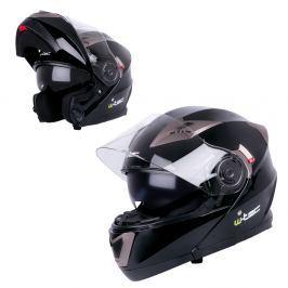 Kask motocyklowy szczękowy z blendą W-TEC YM-925