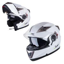 Kask motocyklowy szczękowy z blendą W-TEC YM-925 Kaski z otwieraną szczęką