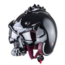 Kask motocyklowy futurystyczny W-TEC YM-629S-GT