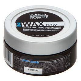 L´Oréal Professionnel Homme Styling Wax wosk do włosów dla lekkiego utrwalenia 50 ml