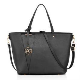Anna Grace AG00522 torebka na ramię czarna
