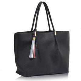L&S Fashion LS00271 na ramię czarna