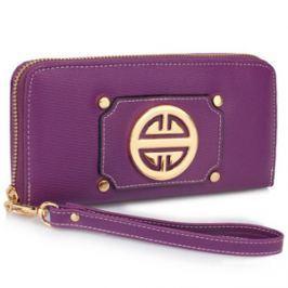 L&S Fashion LSP1051A portfel fioletowy