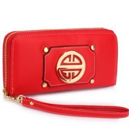 L&S Fashion LSP1051A portfel czerwony
