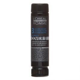 L´Oréal Professionnel Homme Cover 5 farba do włosów No. 3 Dark Brown 3 x 50 ml