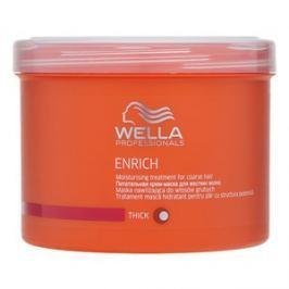 Wella Professionals Enrich Moisturising Treatment maska do włosów grubych 500 ml