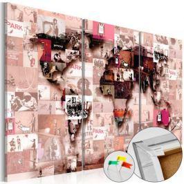 Obraz na korku - Banksy Graffiti Collage [Mapa korkowa]
