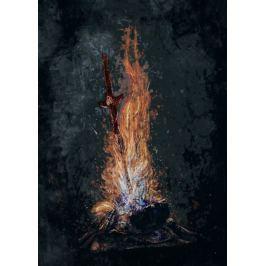 Dark Souls - Bonfire - plakat