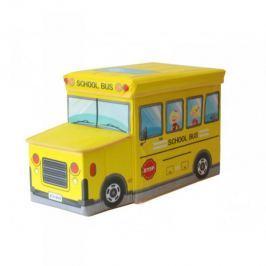 Pufa Pojemnik pudełko na zabawki Autobus