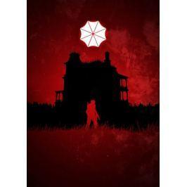 Resident Evil Vintage Poster - plakat