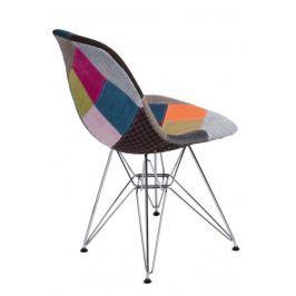 Krzesło P016 DSR patchwork kolorowy