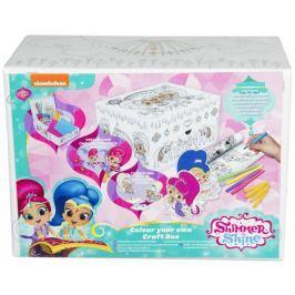 Zestaw kreatywny - pudełko do malowania Shimmer i Shine
