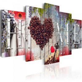 Obraz - Kawowe serce