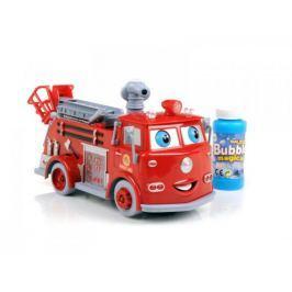 Straż Pożarna Puszczająca Bańki Mydlane