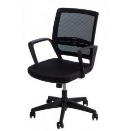 Fotel biurowy Seca G czarny/czarny